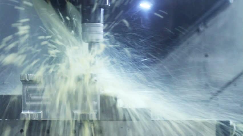 Aircraft building. High-tech robotic manufacturing.   Shutterstock HD Video #16361824