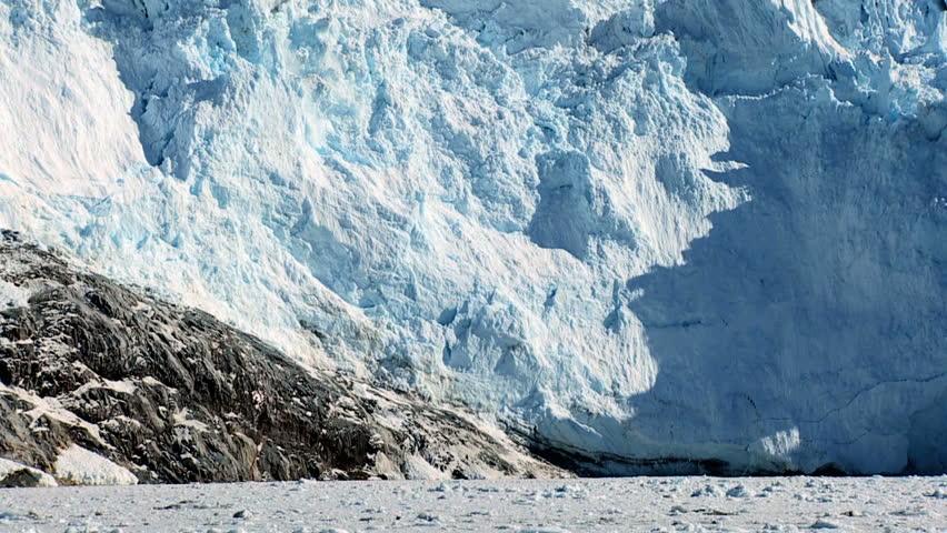Spectacular Glacial Calving