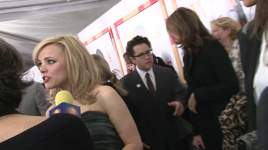 "NEW YORK, NEW YORK CIRCA NOVEMBER 2010: Rachel McAdams at the premiere of ""Morning Glory. - HD stock footage clip"