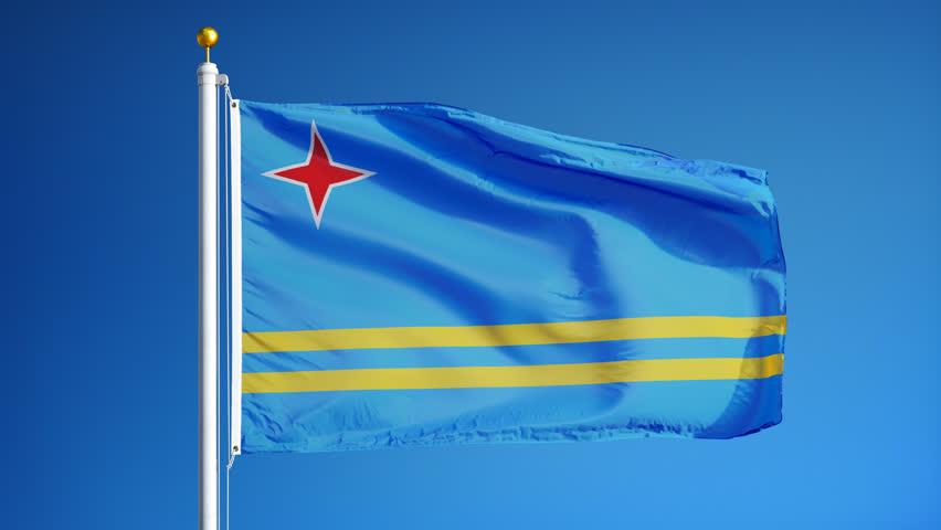 Aruba Flag Il