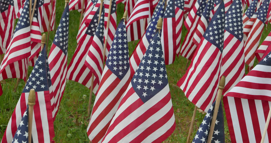 American flag decorations for memorial day stock footage for American flag decoration ideas