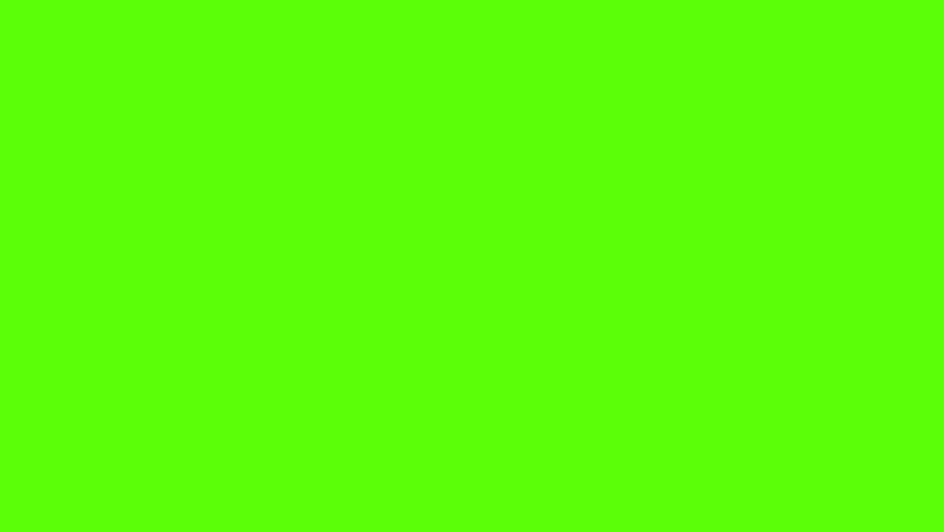 Tick animation green screen chroma key red | Shutterstock HD Video #17208274