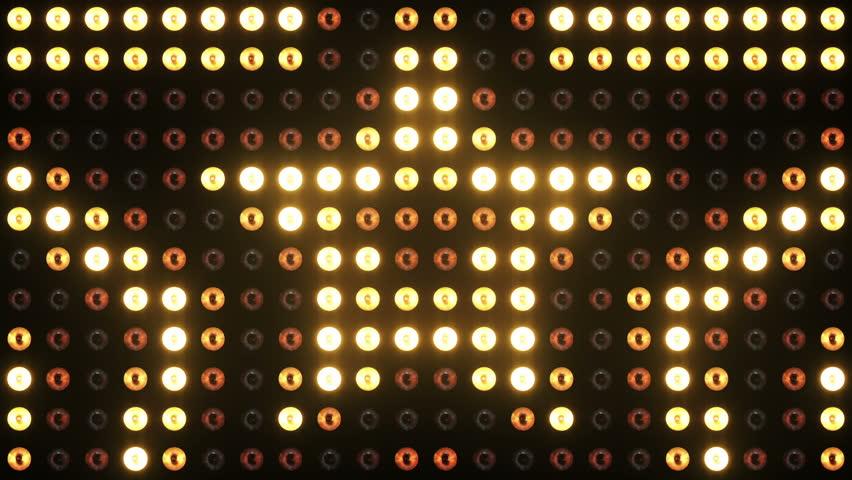 Lights Flashing VJ Loops Floodlight Lighting Wall 4K Ultra HD 5 Looped Animations | Shutterstock HD Video #17322529