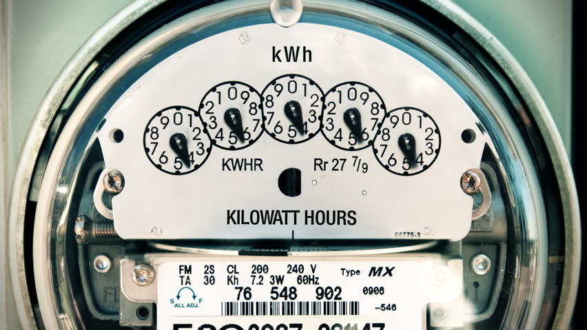 Electricity Meter Time-lapse Loop