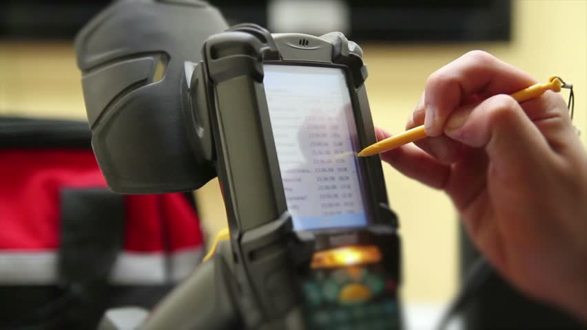 Testing scanner