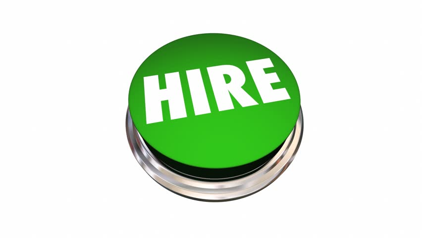 Hire New Employee Job Candidate Opening Button 3d Animation | Shutterstock HD Video #17896666