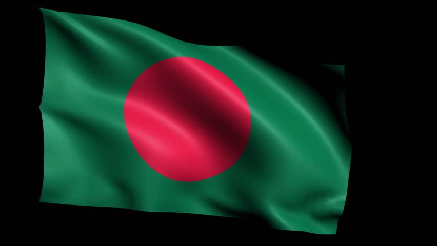 Bangladesh Flag Waving Png