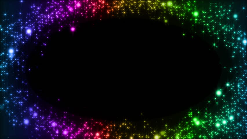Rainbow Fireworks Celebration Colorful Abstract Image With: Holiday And Celebration Sparkling Confetti Fireworks