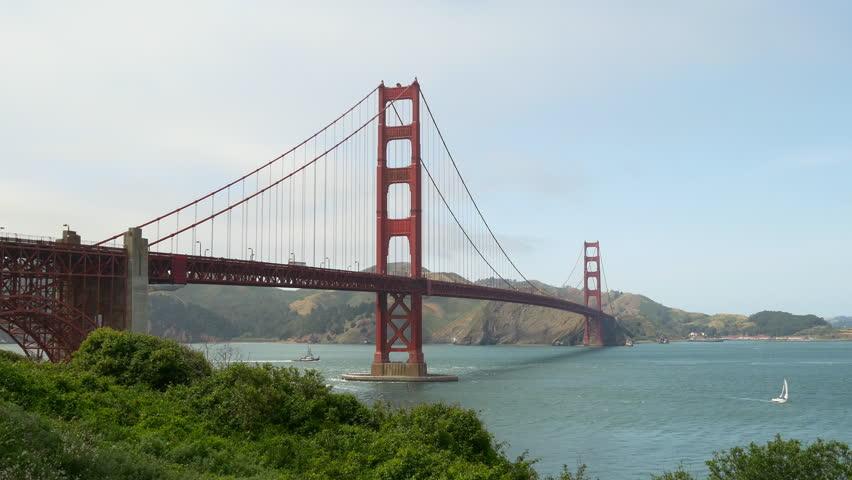 Golden Gate Bridge 4k: Golden Gate Bridge Stock Footage Video 5195879