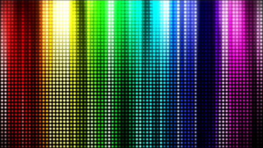 Rainbow Color Spectrum curtain - HD stock video clip