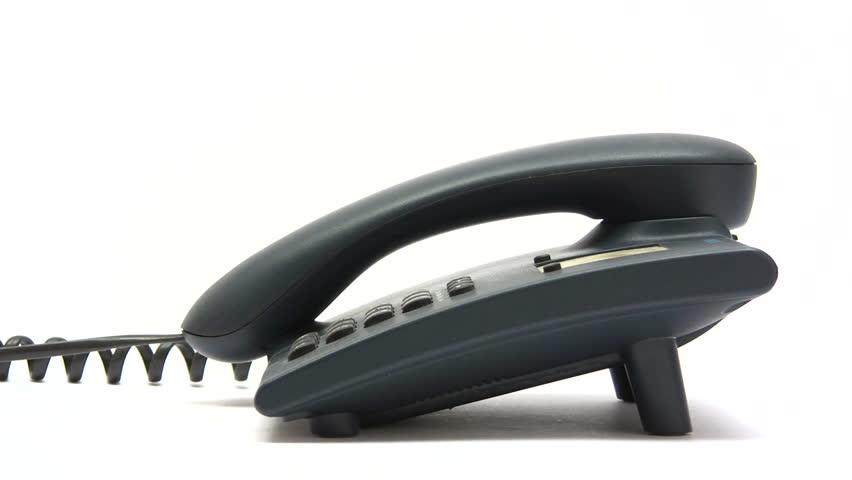 Making a Phone Call - HD stock video clip