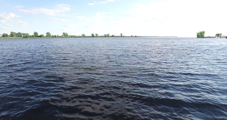 Survol du fleuve Saint-Laurent