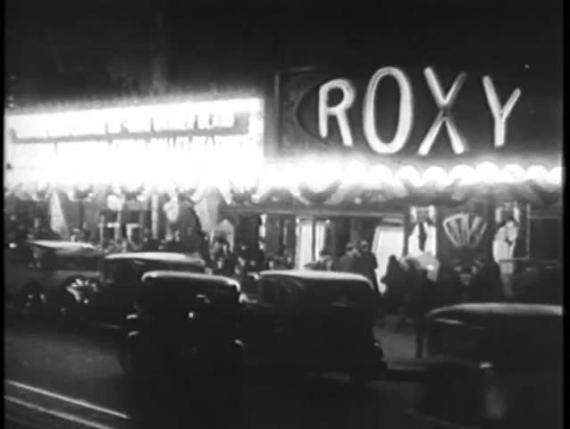Roxy Theater Manhattan, 1930s