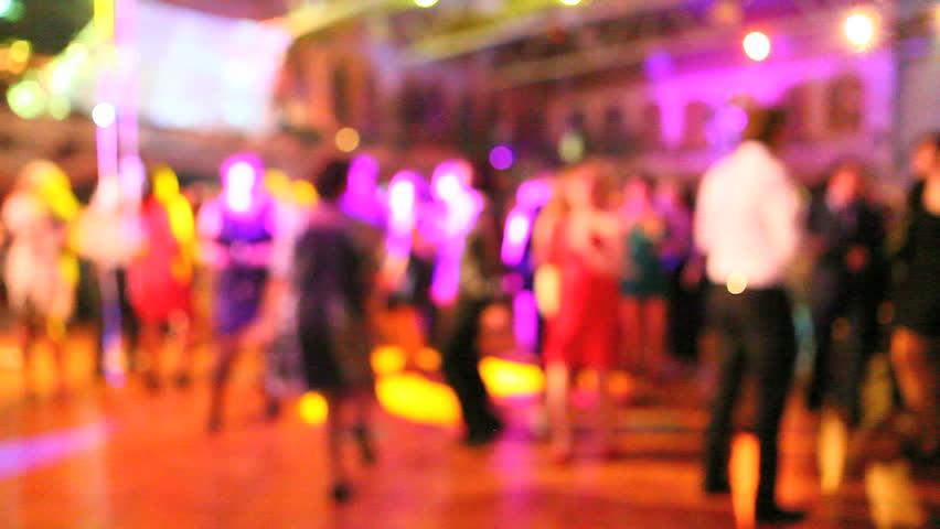 dancing crowd in 1080Ã'?1920 HD video