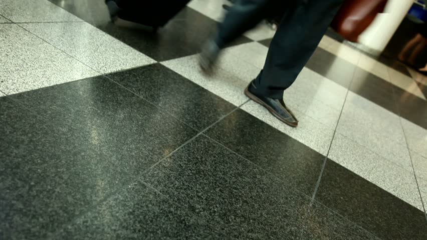 Passengers at the airport | Shutterstock HD Video #1909624