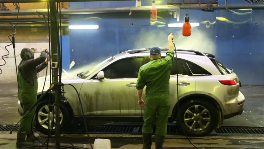 How To Wash Car Indoors