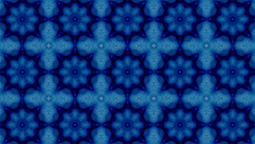 Mosaic fractal geometric kaleidoscopic  | Shutterstock HD Video #19207534