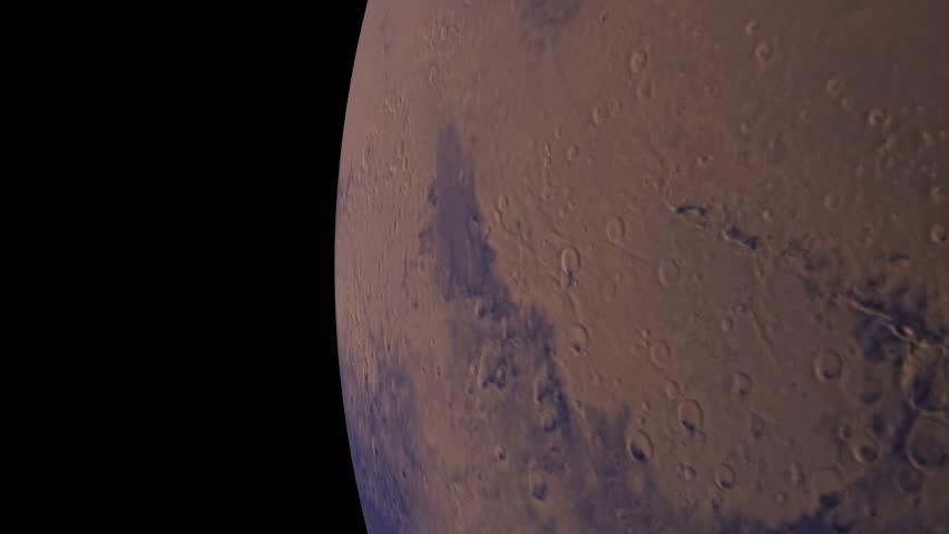 Mars - HD stock video clip
