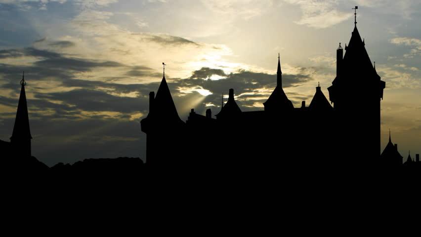 Castle De Haar is located near Haarzuilens, in the province of Utrecht in the Netherlands.  - HD stock video clip