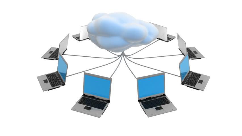 Cloud Network HD - HD stock video clip