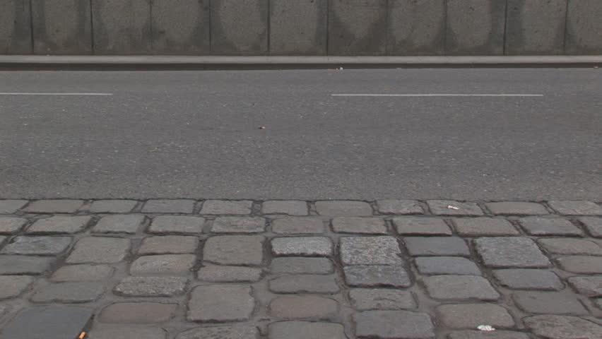 legs of walking people, loop, timelapse - HD stock footage clip