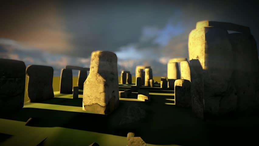 Stonehenge - time lapse