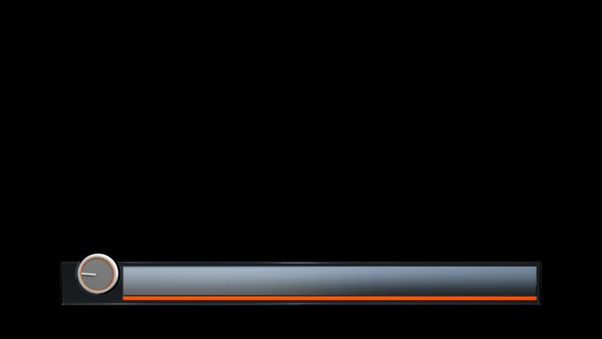 Blue lower third background  | Shutterstock HD Video #19815979