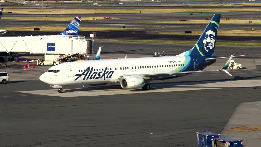 Logan Airport Stock Footage Video Shutterstock