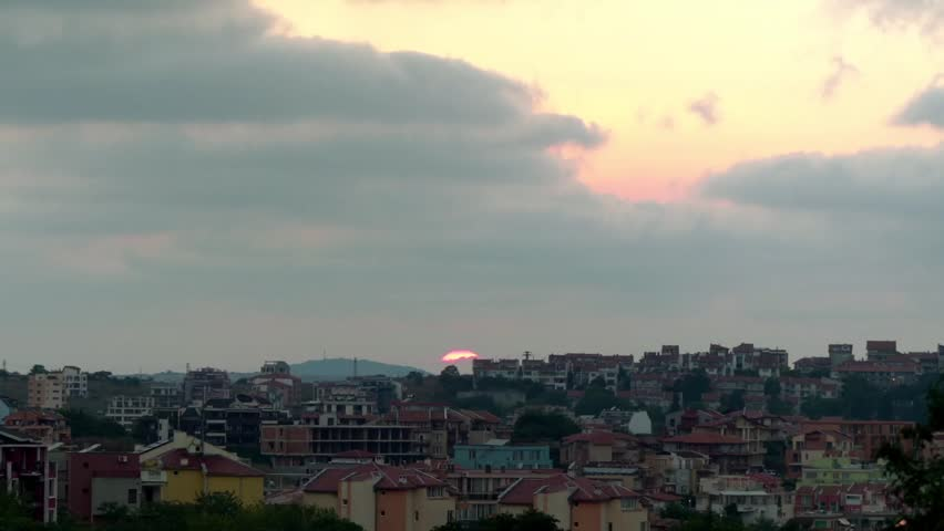 Sunset in Sozopol. Sozopol is an ancient seaside town located 35 km south of Burgas on the southern Bulgarian Black Sea Coast. #19919605