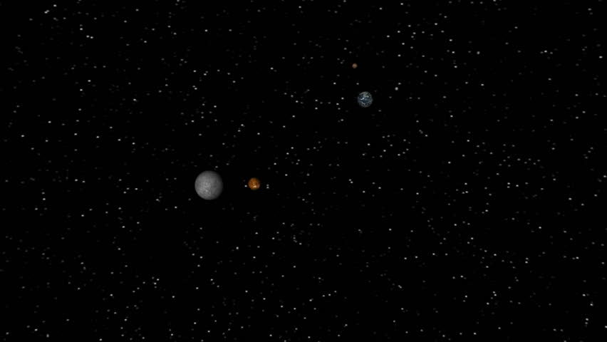 map our solar system without pluto - photo #18