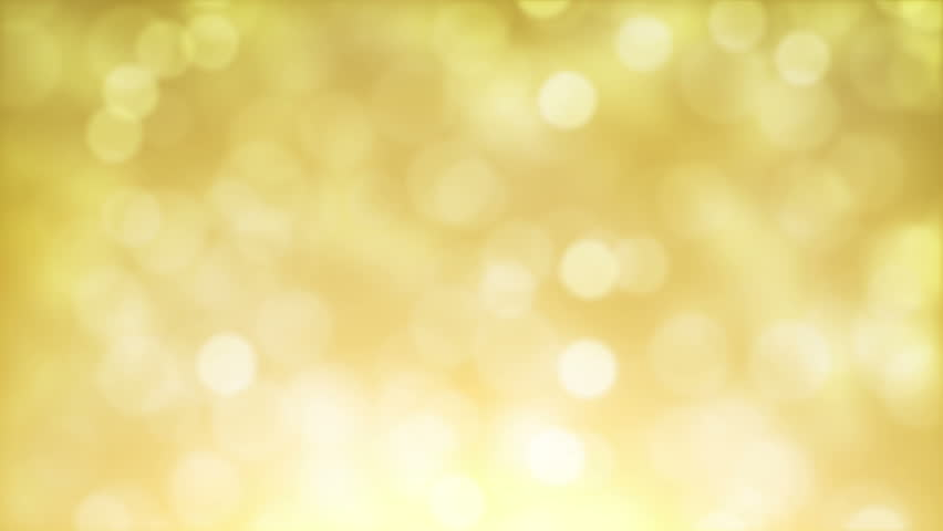 Bokeh Wallpapers High Quality: High Quality Looping Animation Of Abstract Golden