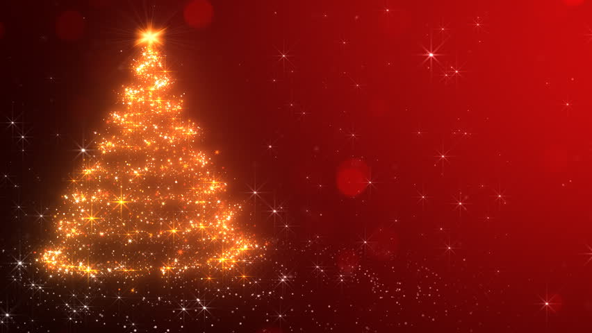 Loopable Animated Christmas Tree Background. The last 600 frames make a seamless loop. | Shutterstock HD Video #20186608