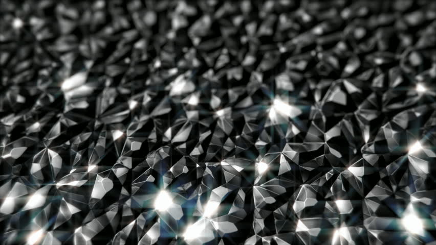 Black shiny crystals motion background seamless loop | Shutterstock HD Video #20211682