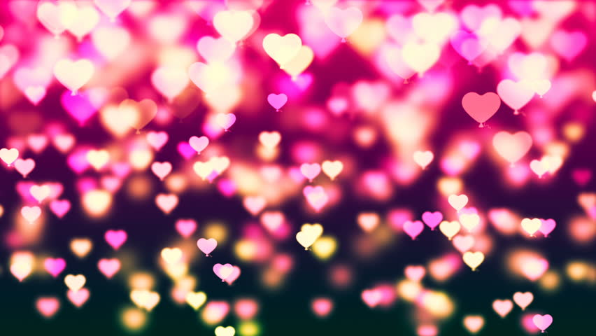 Graceful Background By Valentine's Day Stock Footage Video
