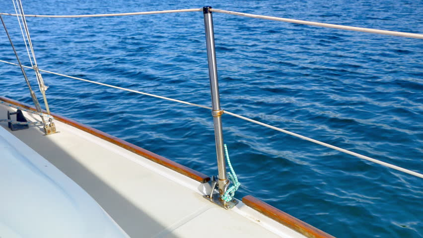 Boat deck railing Footage #page 2 | Stock Clips