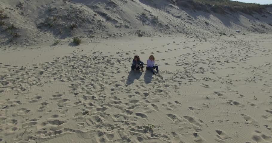 Women on the beach | Shutterstock HD Video #20541064