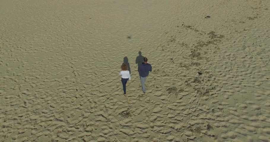 Man and woman at the beach | Shutterstock HD Video #20541595