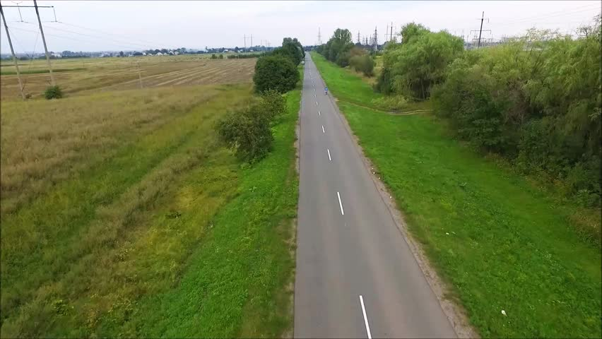 Country road. Road and trees.  trees at the road | Shutterstock HD Video #20597512