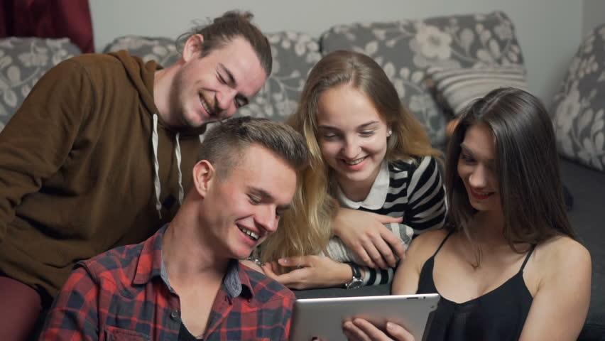 Friends Having Fun | Shutterstock HD Video #20626609