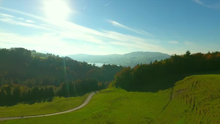 Drone, mountain Berra, fall  | Shutterstock HD Video #20641648