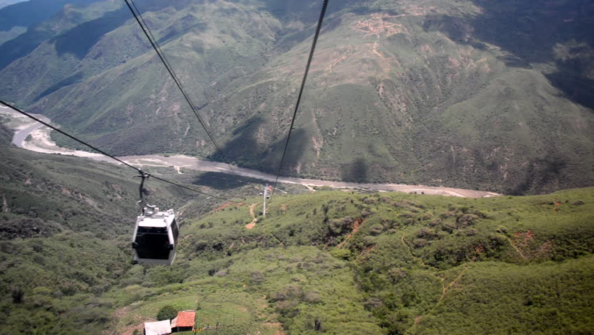 Descending into Chicamocha Canyon in Santander, Colombia   Shutterstock HD Video #20899381