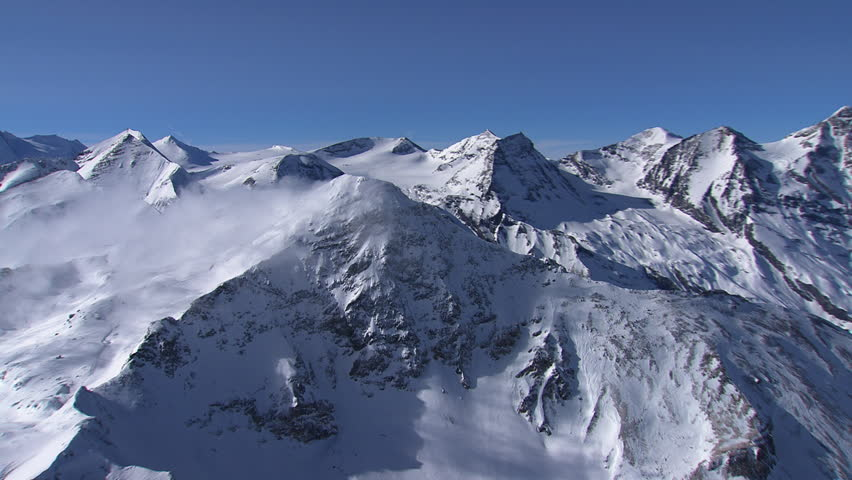 WS AERIAL Snow covered landscape of East Tyrol / Austria (February, 2016- Austria) | Shutterstock HD Video #20956360