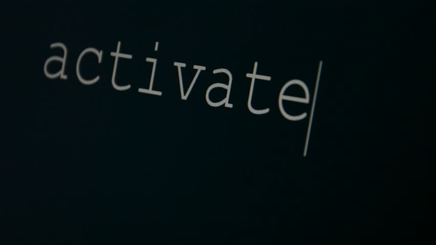Header of activate