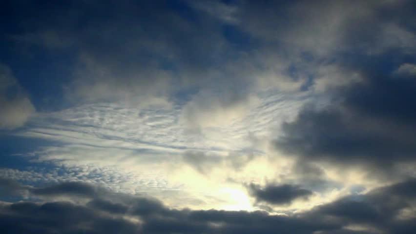Timelapse 1920x1080 sky & clouds 1080p