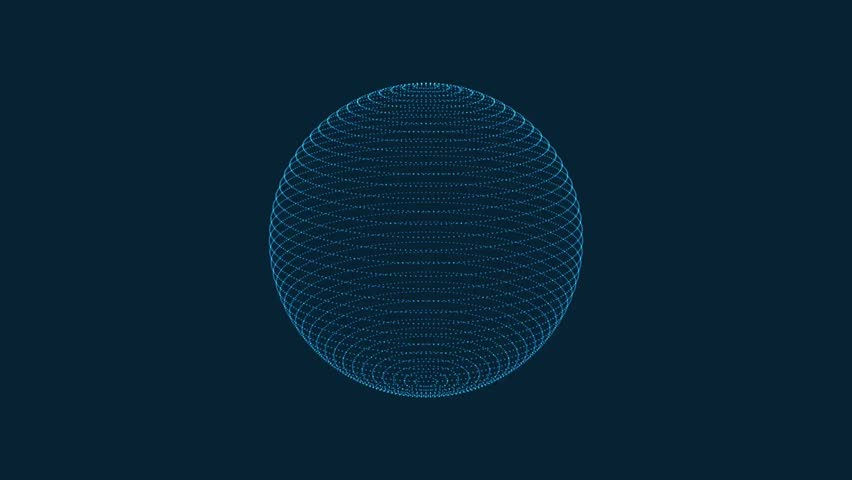 Motion of abstract sphere | Shutterstock HD Video #21059707