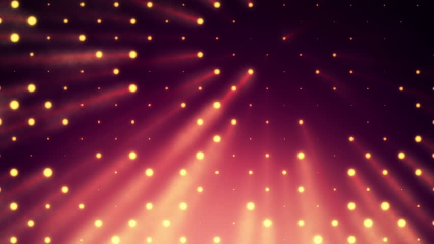 Abstract background with wall from lamps of bright light. Glowing and bright light bulbs. Projector of light rays. Animation of seamless loop. | Shutterstock HD Video #21158743