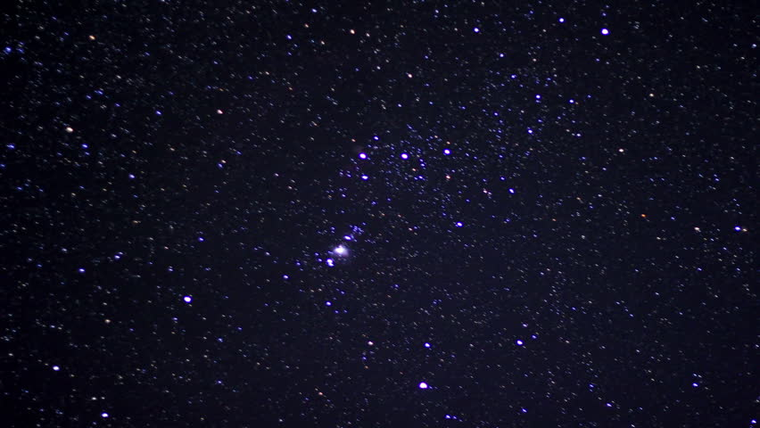 Astro Timelapse 12 Orion Constellation and Meteors