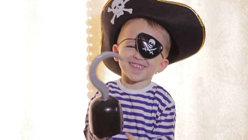 Boy playing pirate | Shutterstock HD Video #21192709