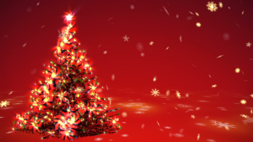 red christmas tree background - photo #37