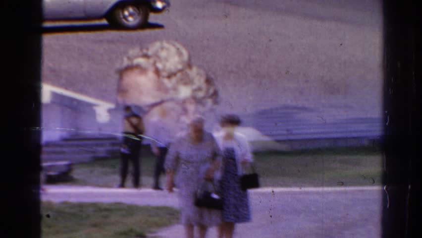 (8mm Vintage) Child With Doll Christmas 1957 Stock Video